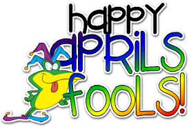 happy april fools with frog