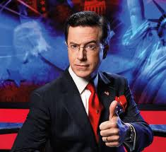 stephen colbert, thumbs up