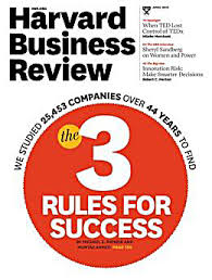 hbr 3 rules for success