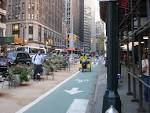 nyc bike and pedestrian lanes